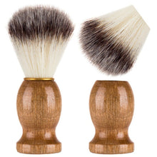 Traditional Men's Moustache & Beard Wet Shaving Barbers Brush