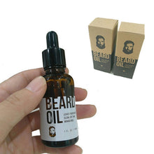 Natural Beard Oil With Leave-In Conditioner for Men's Facial Hair