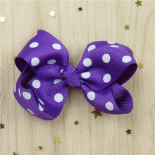 1 Piece Solid Bow Girls Hair Accessory With A Choice Of Clip. Bobble Or Headband