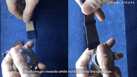 Removing your old watch strap