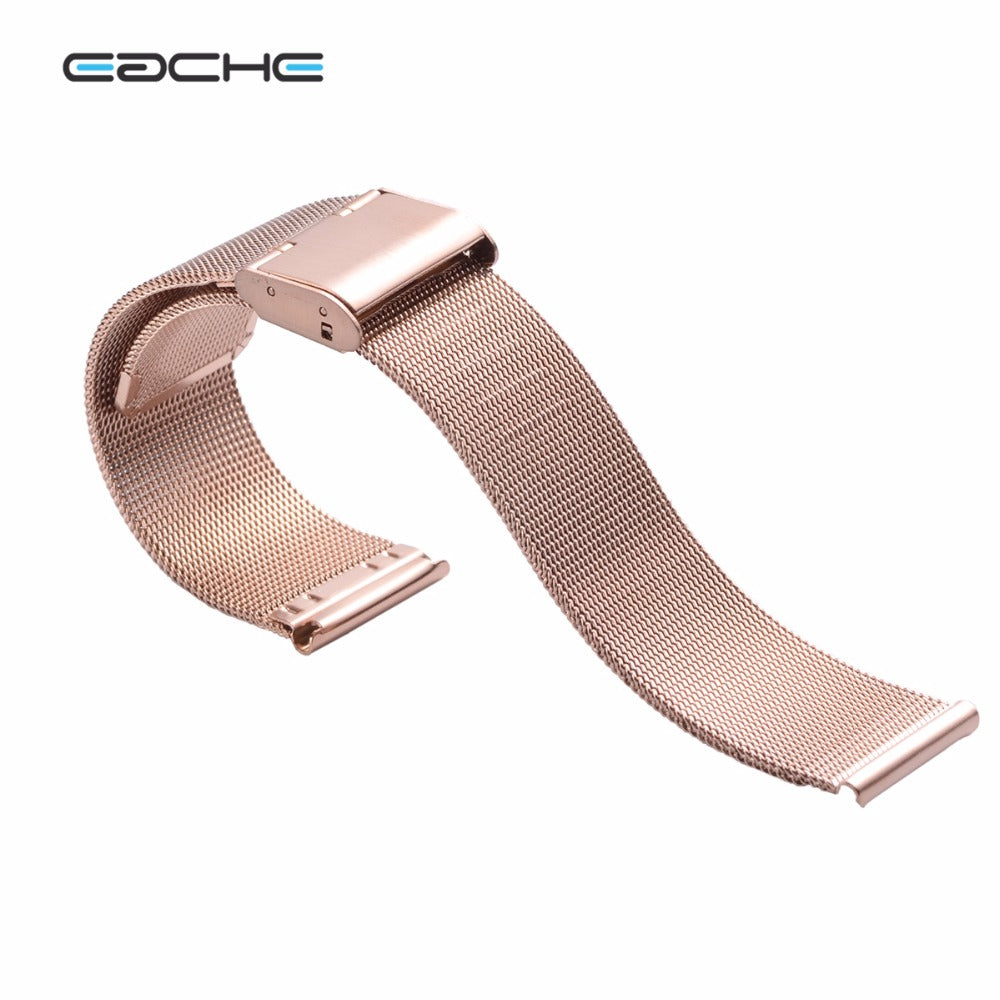 Rose Gold Milanese Watch Band