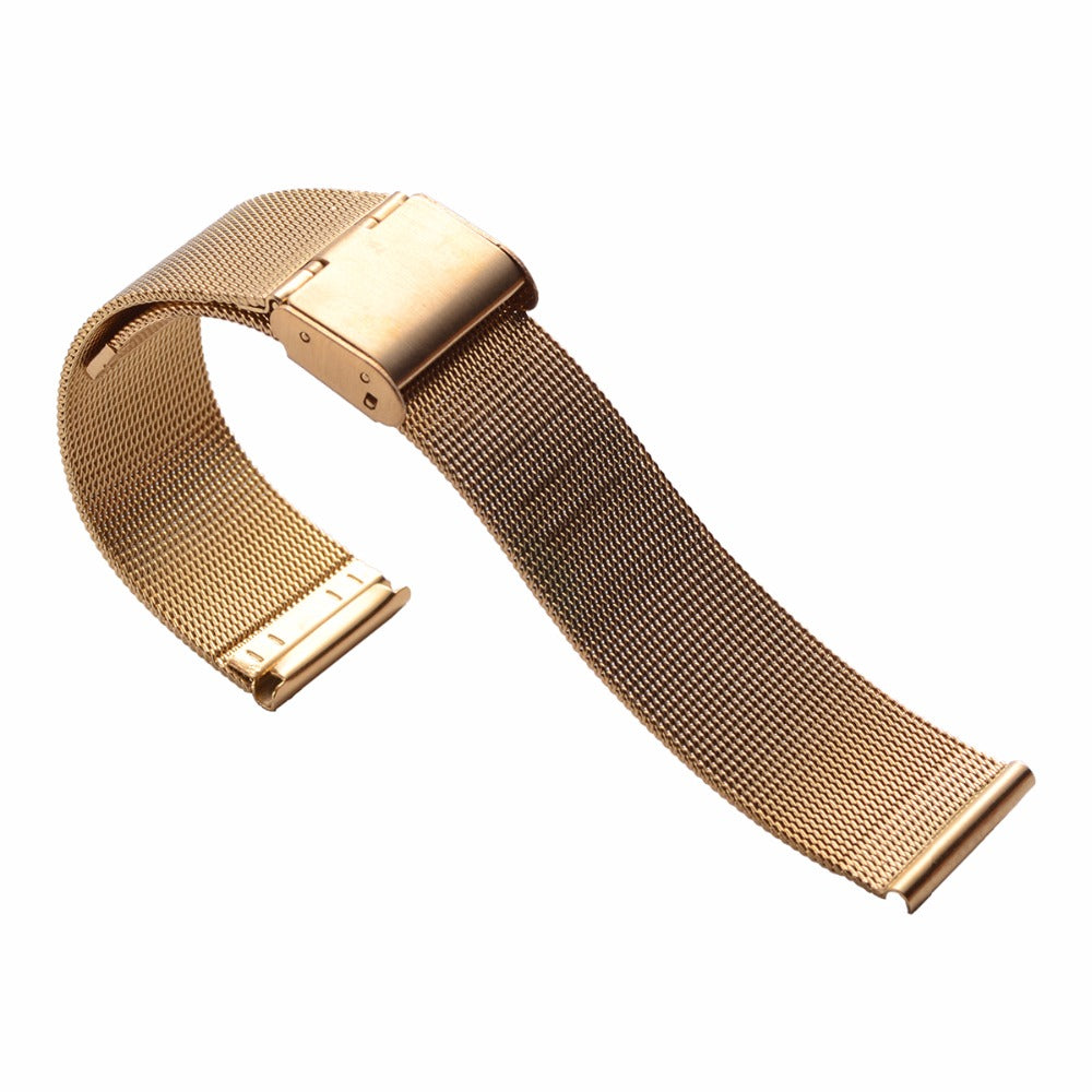 Gold Milanese Watch Band
