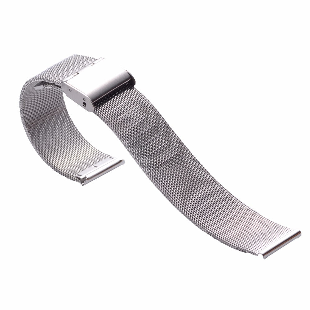 Silver Milanese Watch Band