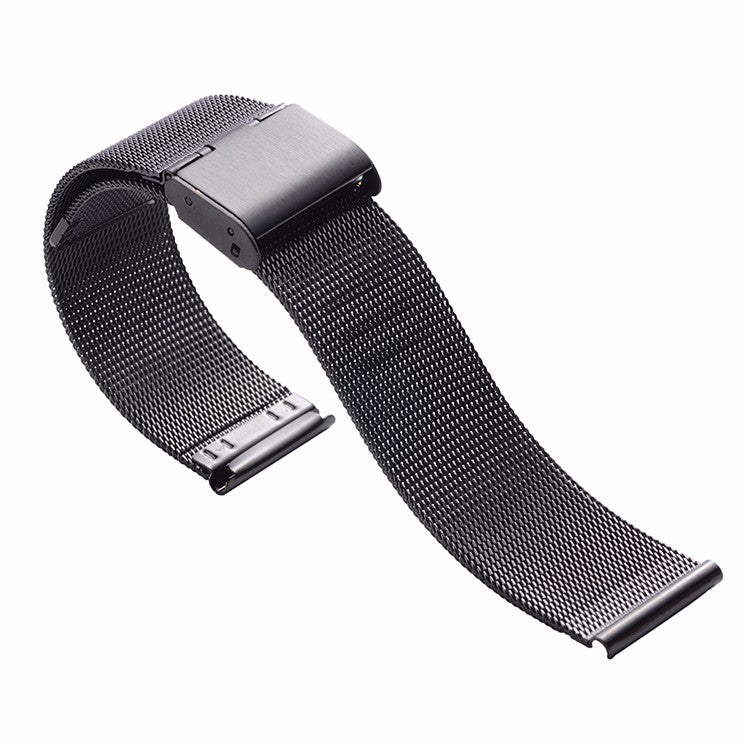Black PVD Milanese Watch Band