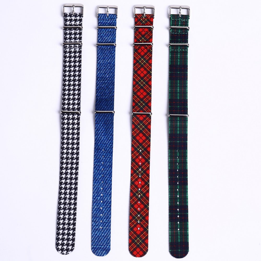 Denim Jeans NATO Watch Strap