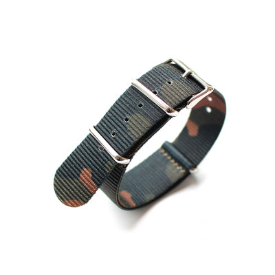 Green Camo Heavy Duty NATO Strap