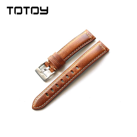 Tan Oxford Padded Watch Strap