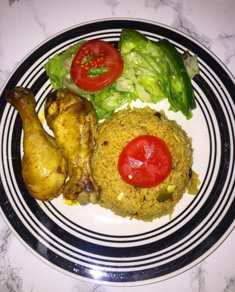 Qadan's chicken & Rice