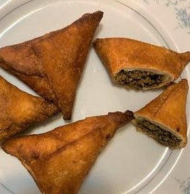 Fried Xawaash Samosa