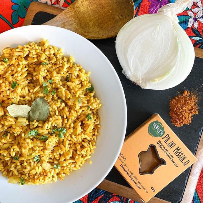 East African Rice Pilau