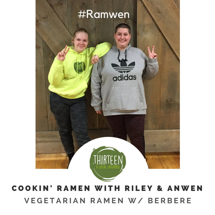 Cookin' Ramen With Riley and Anwen #Ramwen