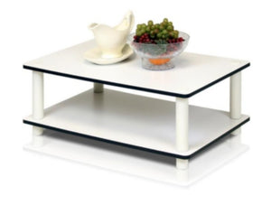 2 Tier Coffee Table-White