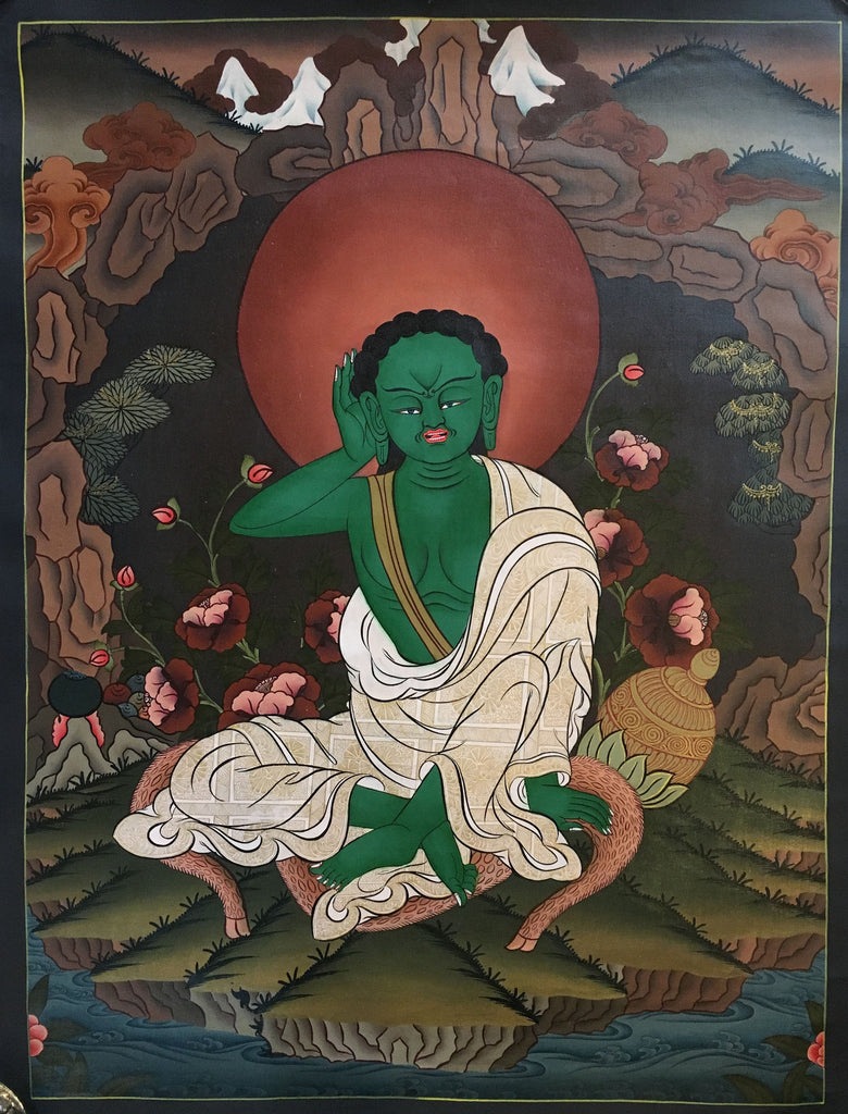 Milarepa Thangka Painting