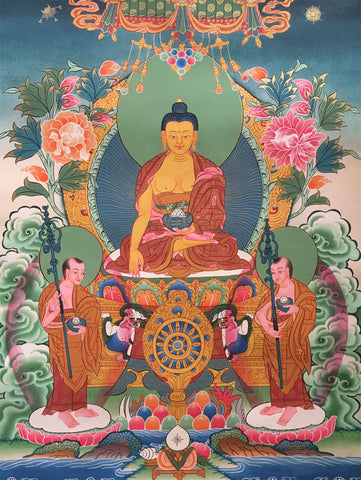 Glorious Thangka of Shakyamuni
