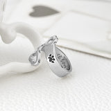 Adjustable Paw Print Ring