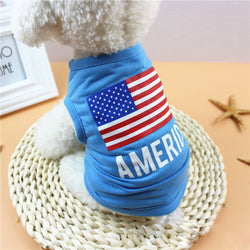 American Flag Cotton Shirt