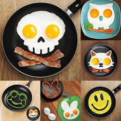 Non-stick Silicone Fried Egg Molds