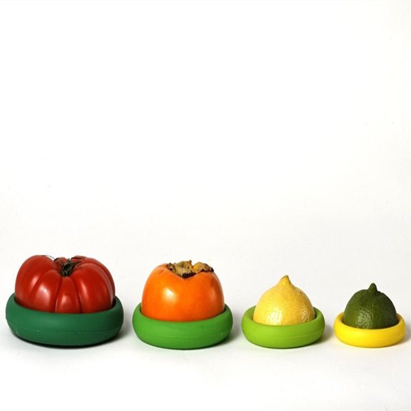 Silicone Food Huggers (4pcs )