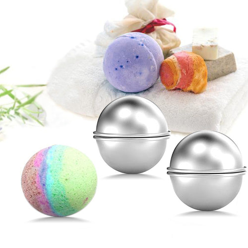 Bath Bomb Molds (3 sizes)
