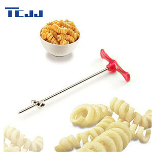Manual Roller Spiral Slicer Radish Potato Tools Vegetable Spiral Cutter Kitchen Accessories Fruit Carving Tools