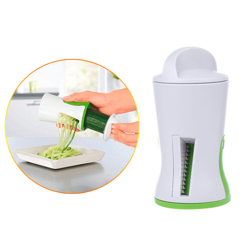 New Vegetable Spiralizer Handheld Spiral Cutter Graters Carrot Cucumis sativus Slicer Spaghetti Pasta Kitchen Cooking Tools