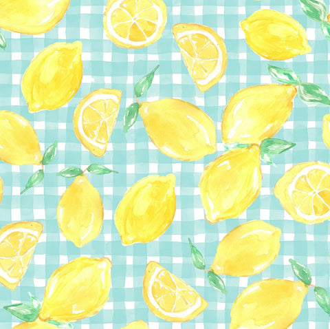 Sweet Summertime - Gingham Lemon Bloomies