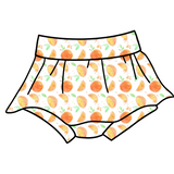 Orange Cutie Skirted Bloomies