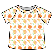 Load image into Gallery viewer, Orange Cutie Ringer Tee