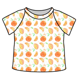 Orange Cutie Ringer Tee