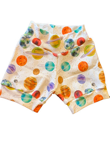 Out of this World Unisex Cuffed Shorts