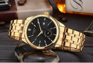 Chenxi Men's Gold Watch (3 colors)-Dapper Luks