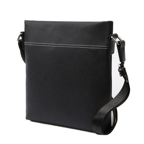 Men's Fashion PU Leather Messenger Bag (2 colors)-messenger bag-Dapper Luks