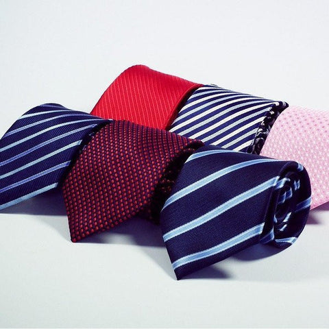 Men's Striped Neck Ties - 20 colors-neckties-Dapper Luks
