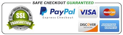 Safe checkout payment icons