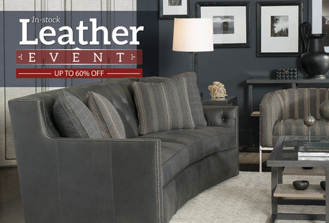 In-Stock Leather Event  - Up To 60%