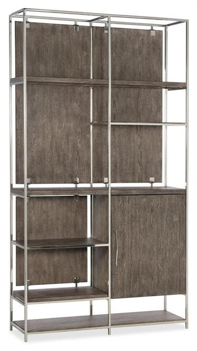 the Hooker Furniture  transitional 1609-10445-MWD home office bookcase is available in Edmonton at McElherans Furniture + Design