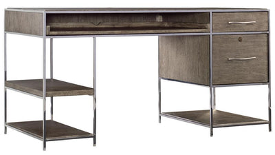 the Hooker Furniture  transitional 1609-10458-MWD home office desk is available in Edmonton at McElherans Furniture + Design