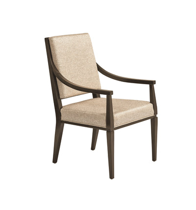 the Fine Furniture Deco contemporary 1680-821 dining room dining chair is available in Edmonton at McElherans Furniture + Design