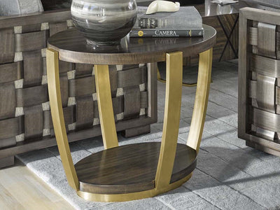 the Fine Furniture   1780-972 living room occasional end table is available in Edmonton at McElherans Furniture + Design