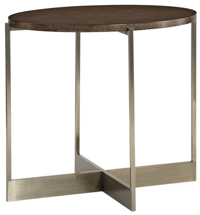 the Bernhardt Clarendon transitional 377-127 living room occasional end table is available in Edmonton at McElherans Furniture + Design