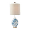 front view of The Theodore Alexander  classic 2054-101 lamp table lamp is available in Edmonton at McElheran's Furniture + Design