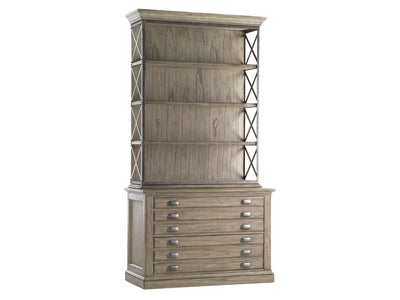the Barton Creek File Chest & Deck is available in Edmonton at McElherans Furniture + Design
