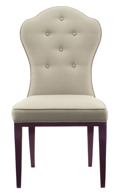 the Bernhardt  classic 346-541 dining room dining chair is available in Edmonton at McElherans Furniture + Design