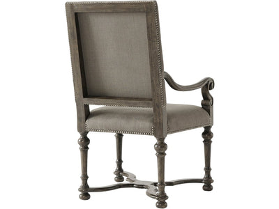 the Theodore Alexander  classic 4100-898 dining room dining chair is available in Edmonton at McElherans Furniture + Design