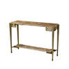 front view of The Theodore Alexander  transitional 5312-009 living room occasional console table is available in Edmonton at McElheran's Furniture + Design