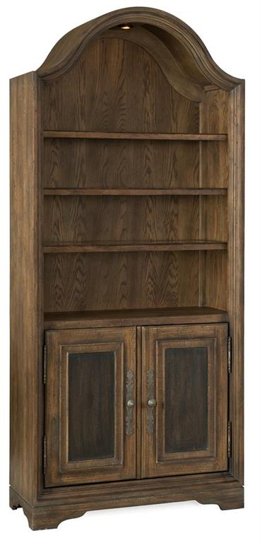 the Hooker Furniture Hill Country classic 5960-10446-MULTI home office bookcase is available in Edmonton at McElherans Furniture + Design