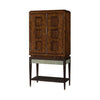 the Theodore Alexander  transitional 6105-385 living room occasional bar cabinet is available in Edmonton at McElherans Furniture + Design