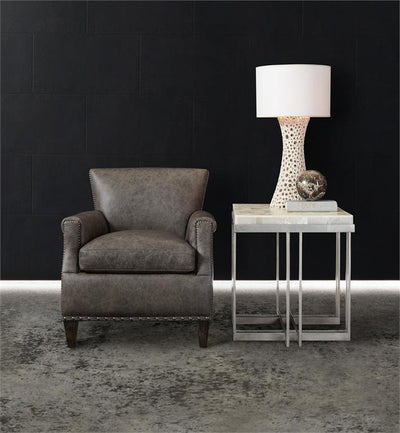 the Hooker Furniture  transitional 638-50394-MULTI living room occasional end table is available in Edmonton at McElherans Furniture + Design