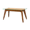 the Theodore Alexander  contemporary 7105-210 home office desk is available in Edmonton at McElherans Furniture + Design