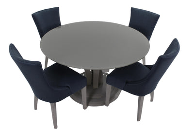 the BDM  transitional TBRGL-0120 dining room dining table is available in Edmonton at McElherans Furniture + Design